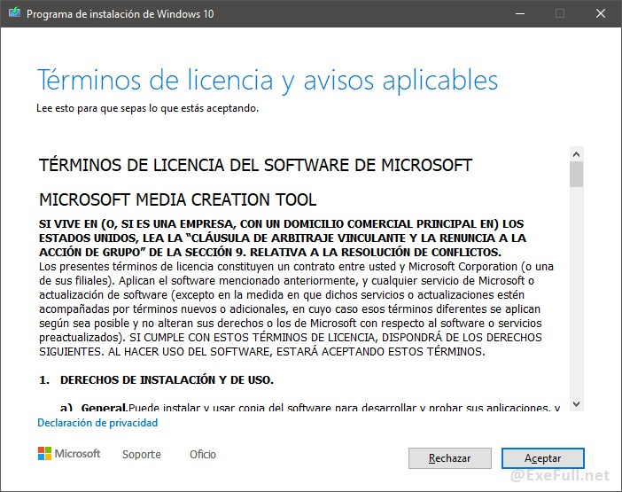 Descarga Windows 10 Paso 2