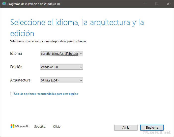 Descarga Windows 10 Paso 5